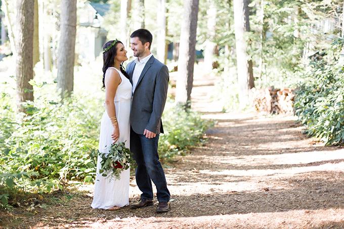 woodland engagement session | KAngell Photography | Glamour & Grace
