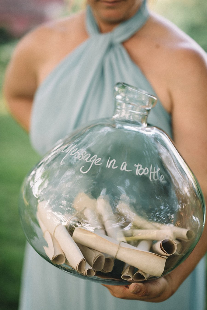 message in a bottle | Lindsay Hackney | Glamour & Grace
