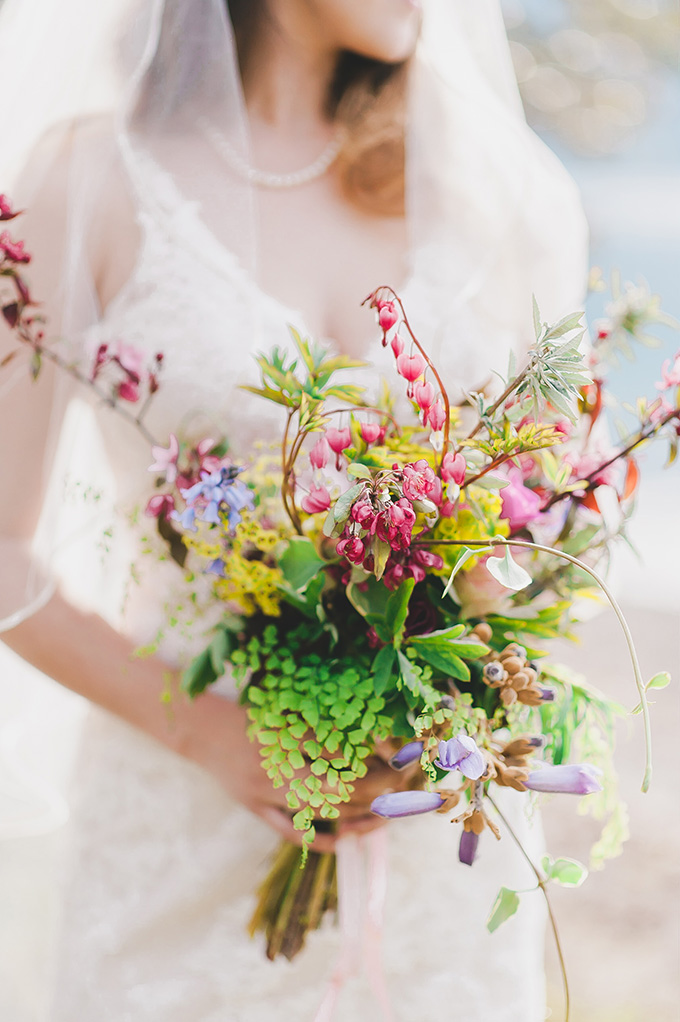 wild bouquet | Adrien Craven Photography | Glamour & Grace
