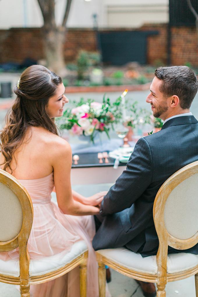 rose and mint wedding inspiration | Nikki Schell | Glamour & Grace
