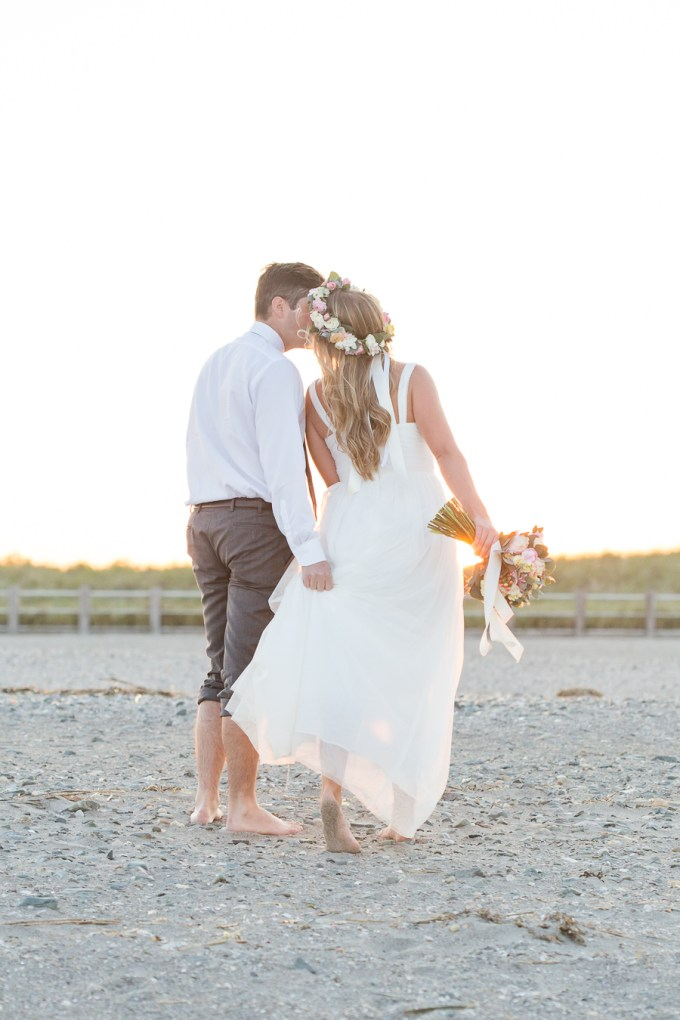 sunset beach wedding inspiration | Shaina Lee Photography | Glamour & Grace