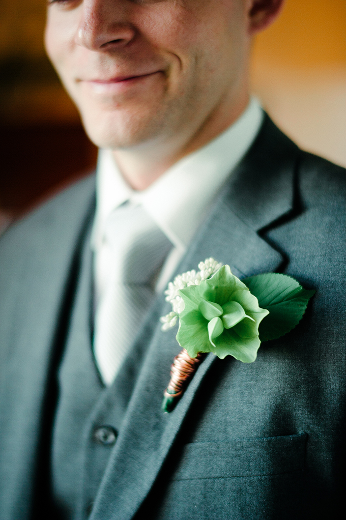 green and copper bout | April Bennett Photography | Glamour & Grace