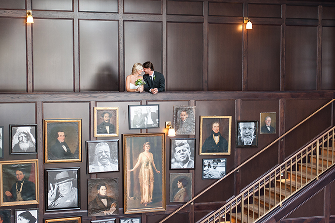 modern geometric wedding | Sarah & Ben | Glamour & Grace