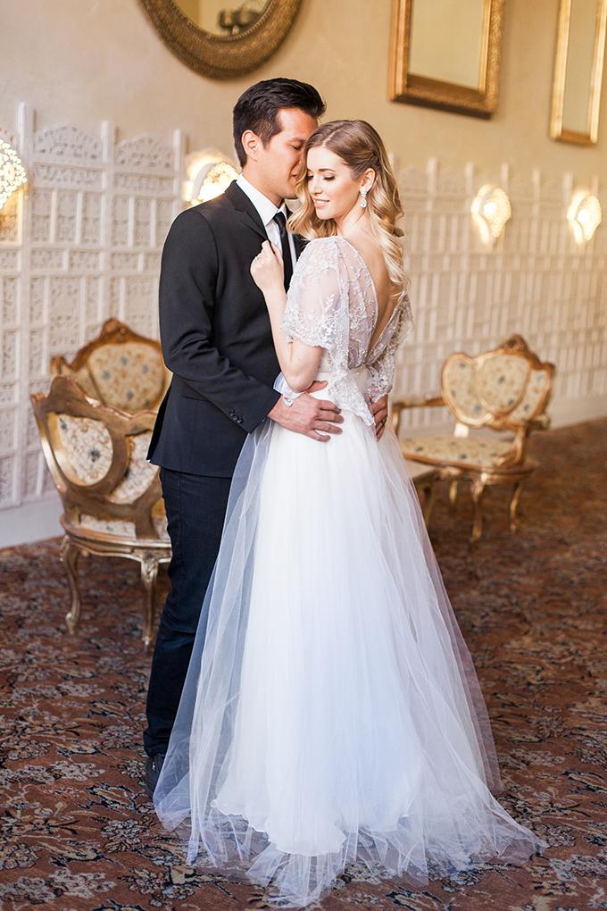 timeless and romantic bridal portraits | Stefanie Marie Photo | Glamour & Grace