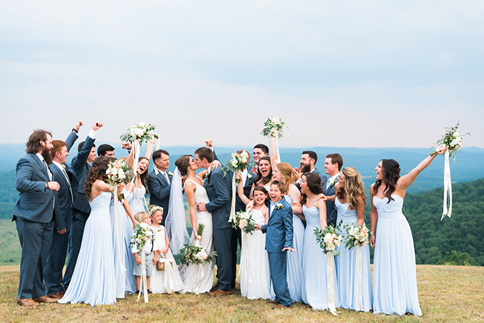 elegant cliffside Southern wedding | Cotton & Clover Photography | Glamour & Grace-30