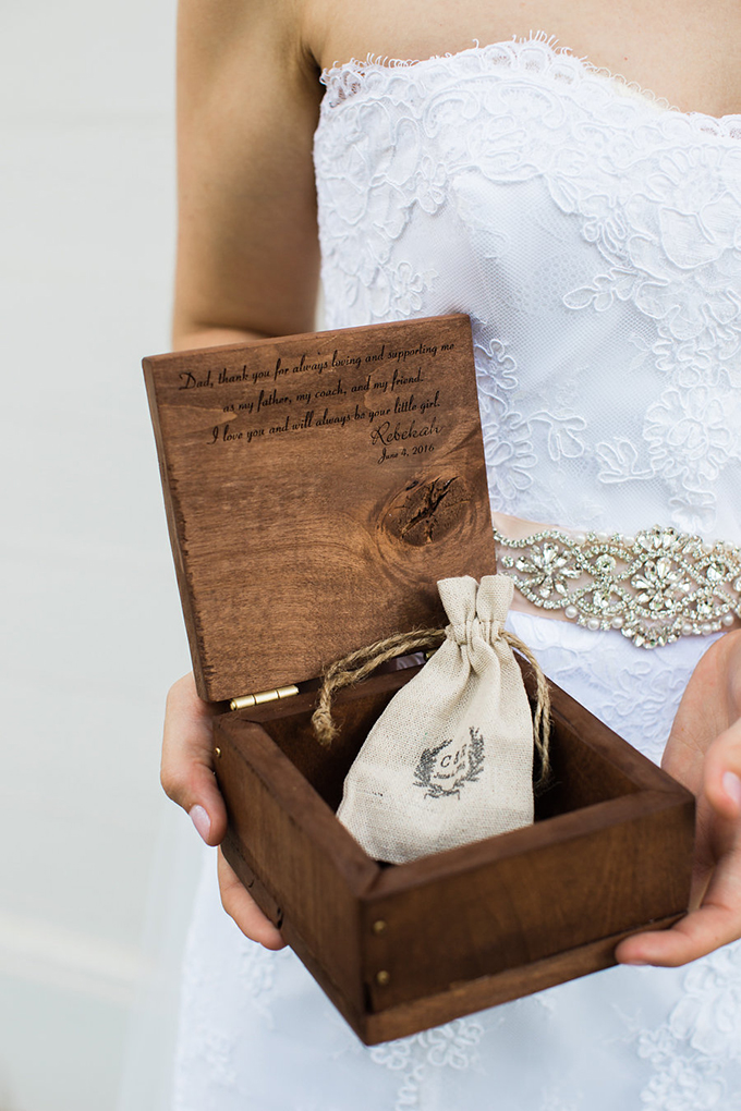 gift for father of the bride | Casto Photography & Cinema | Glamour & Grace