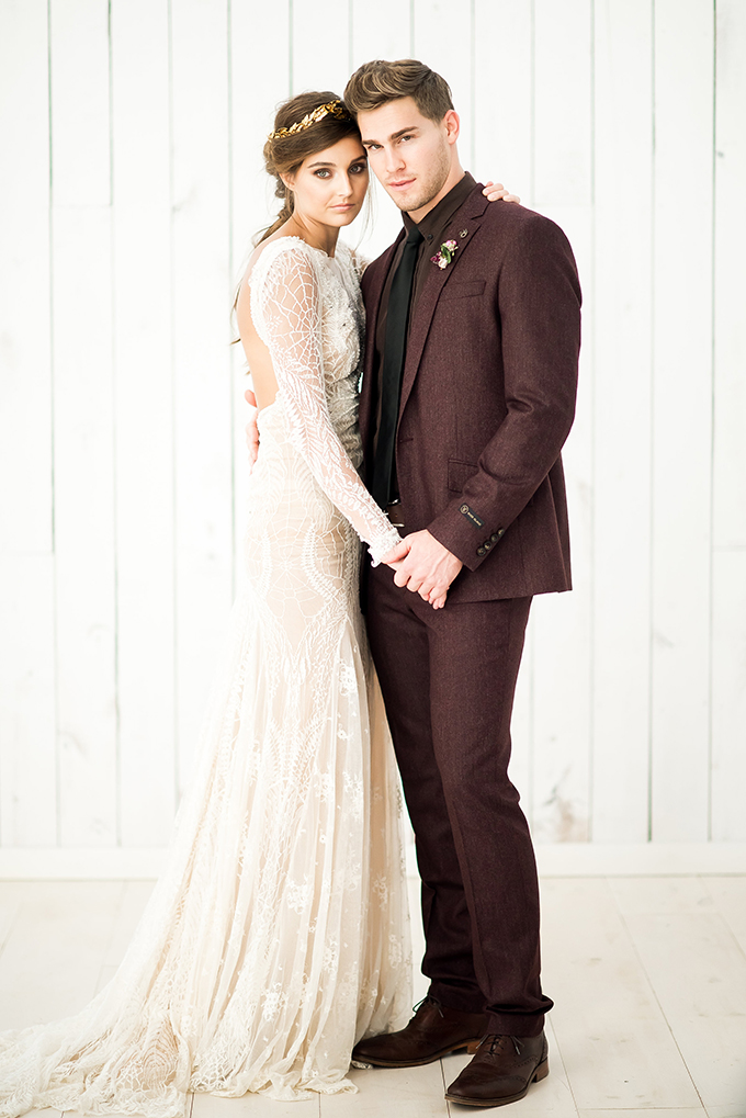 romantic fall wedding inspiration | Andrea Elizabeth Photography | Glamour & Grace