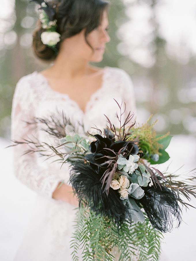 snowy winter bridal session   Jeremy Chou Photography   Glamour & Grace