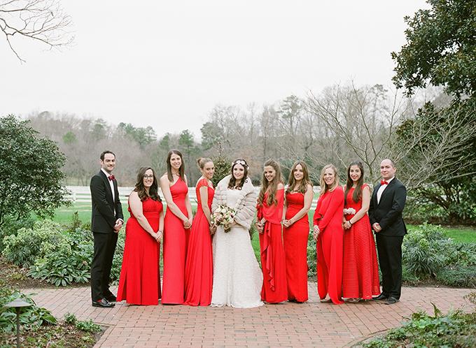 winter barn wedding | Krystal Kast Photographers | Glamour & Grace