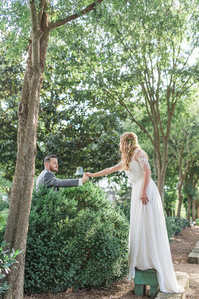 The Secret Garden wedding inspiration | Lotus Blossom Photography | Glamour & Grace