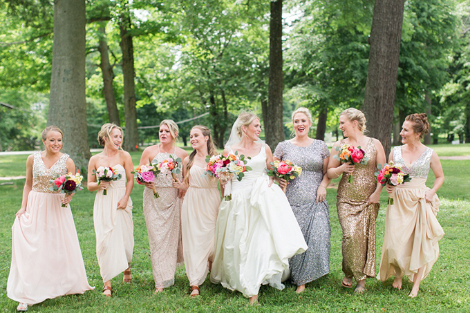colorful whimsical wedding   Samantha Laffoon Photography   Glamour & Grace
