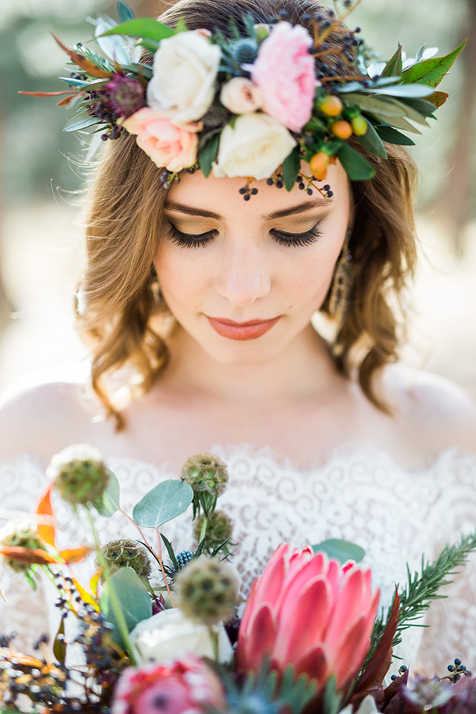 dreamy mountain bridal session | Hazel & Lace Photography | Glamour & Grace-02