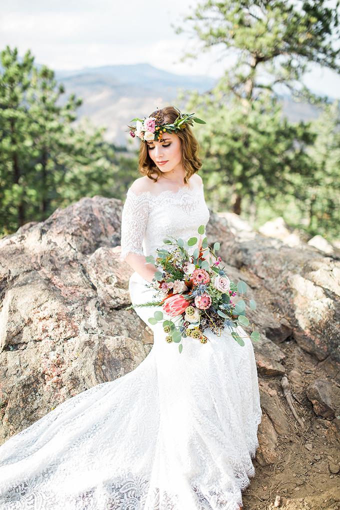 dreamy mountain bridal session | Hazel & Lace Photography | Glamour & Grace-09