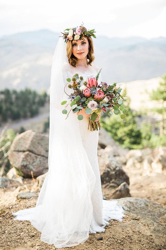 dreamy mountain bridal session | Hazel & Lace Photography | Glamour & Grace-13
