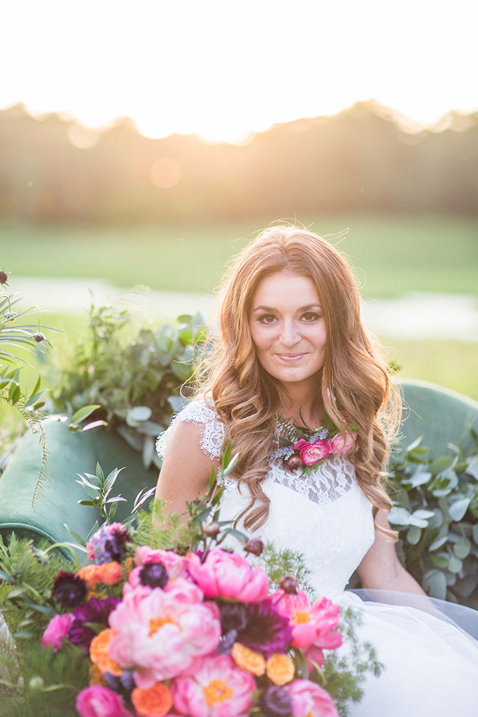 flower lover's bridal session | Crystal's Photography | Glamour & Grace