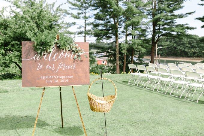 romantic greenery coastal wedding | Lex Nelson Photography | Glamour & Grace-11