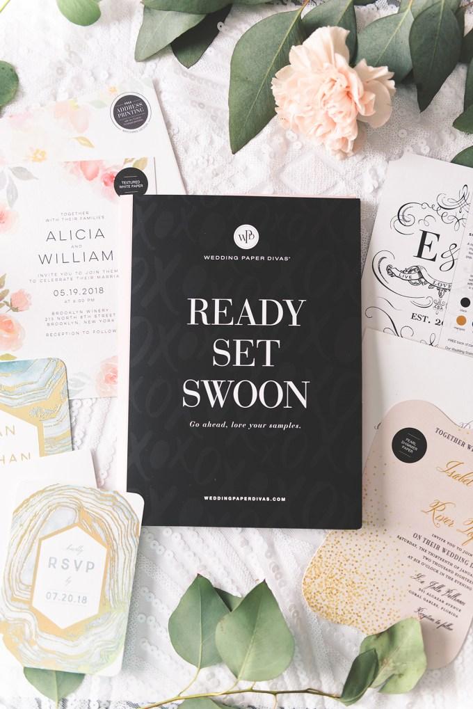 Wedding Paper Divas   wedding invitations   Glamour & Grace-09