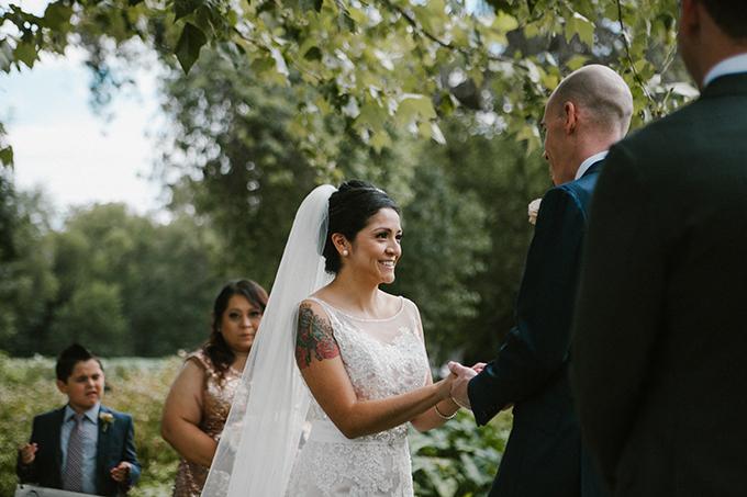 intimate lodge wedding | Jay & Jess Photography | Glamour & Grace-13