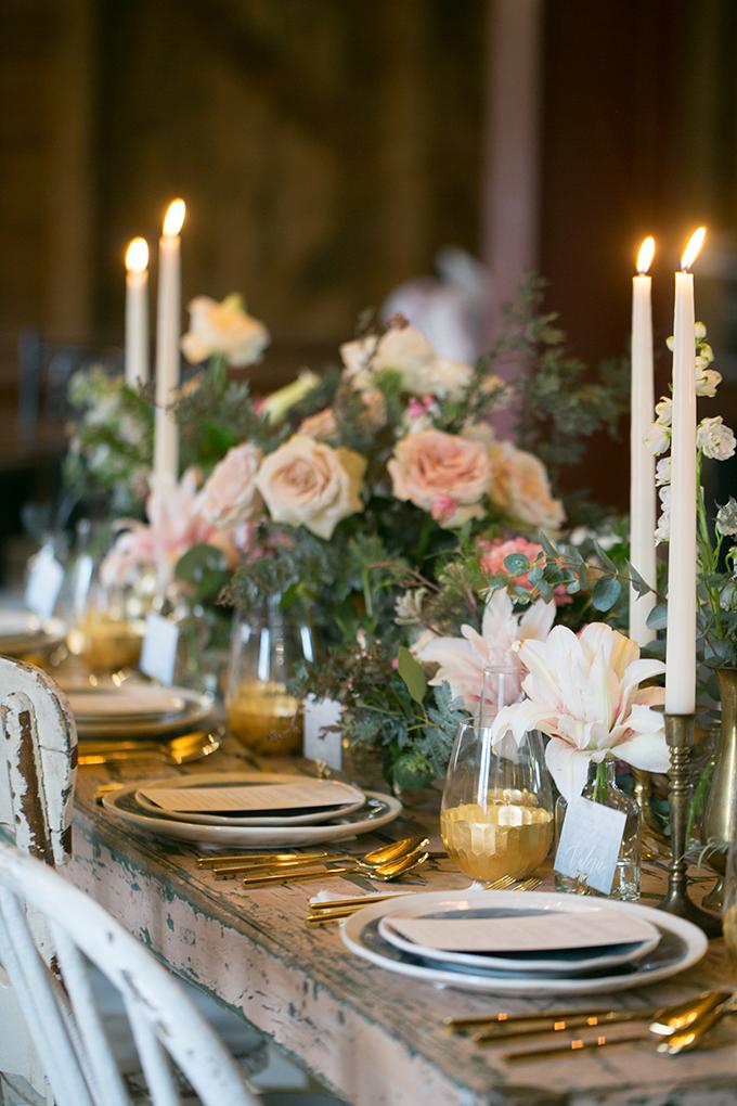 pastel farm wedding inspiration | Erin Johnson Photography | Glamour & Grace-12