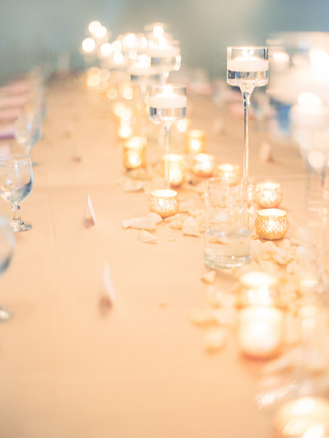 romantic candlelit wedding | Ashley Crawford Photography | Glamour & Grace-24