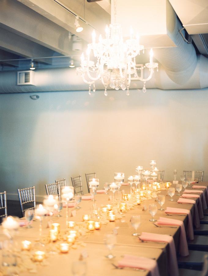 romantic candlelit wedding | Ashley Crawford Photography | Glamour & Grace-26