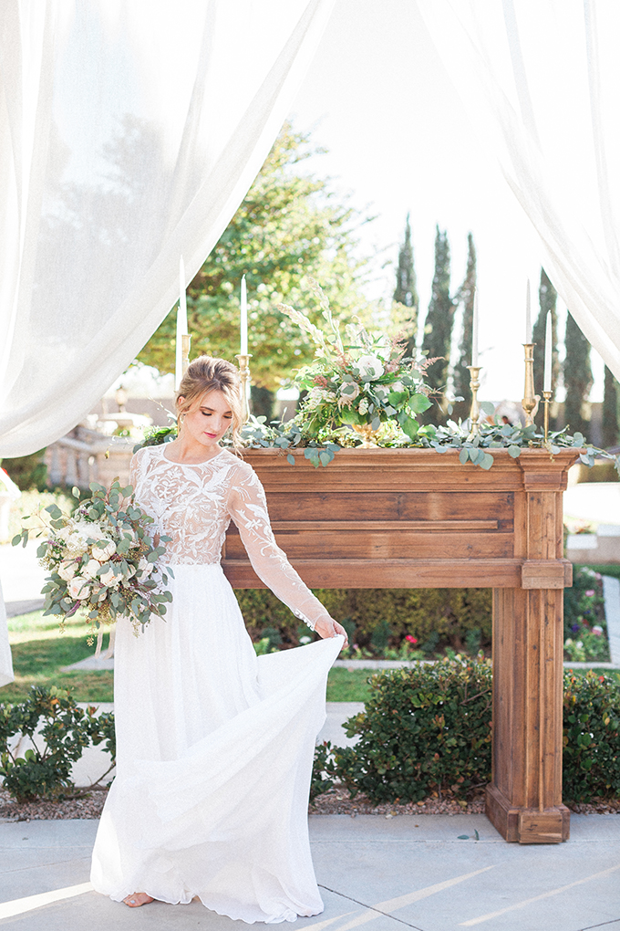 romantic garden wedding inspiration | April Maura Photography | Glamour & Grace-14