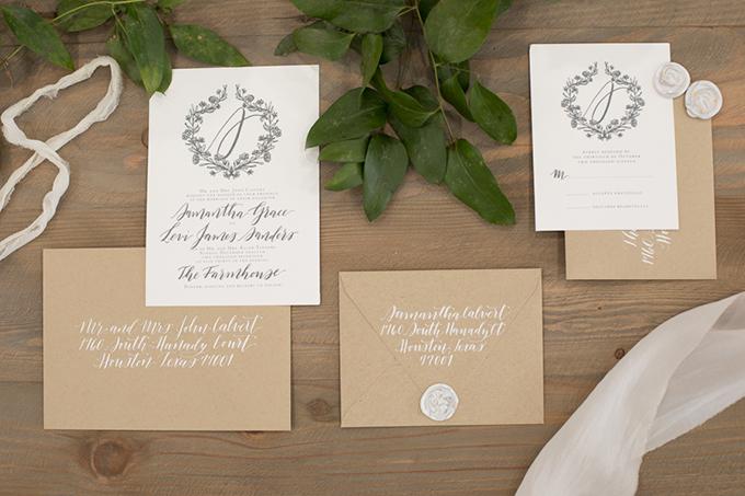timeless farmhouse wedding inspiration | JW Baugh Photography | Glamour & Grace-02