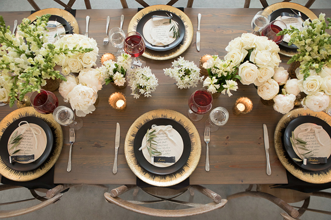 timeless farmhouse wedding inspiration | JW Baugh Photography | Glamour & Grace-10