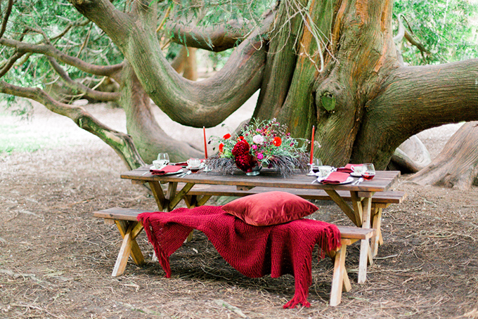 red heirloom wedding inspiration | Aura May Photography | Glamour & Grace-11