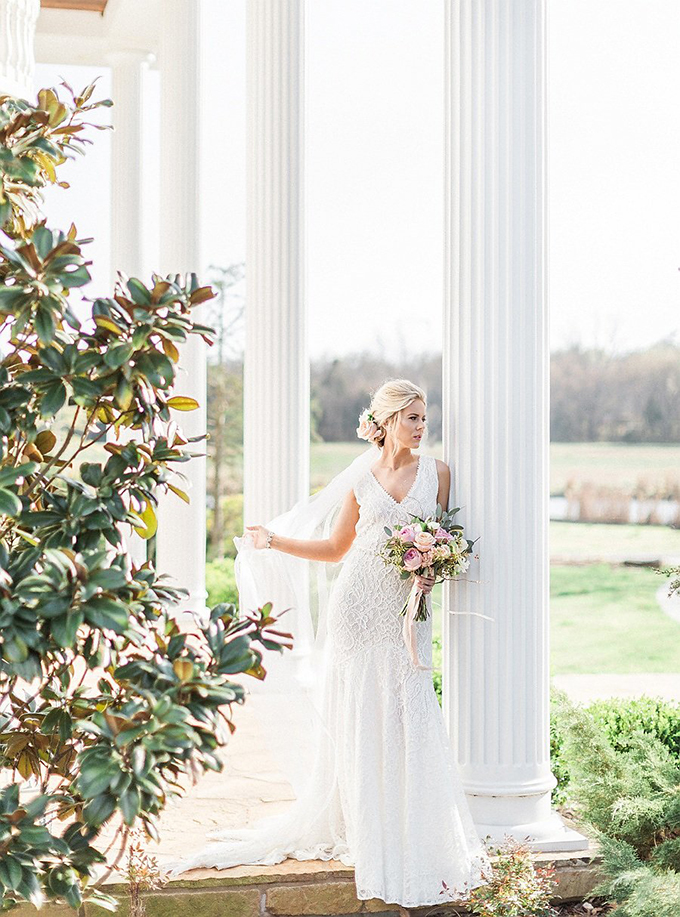elegant Southern wedding inspiration | Tammy Odell Photography | Glamour & Grace-03