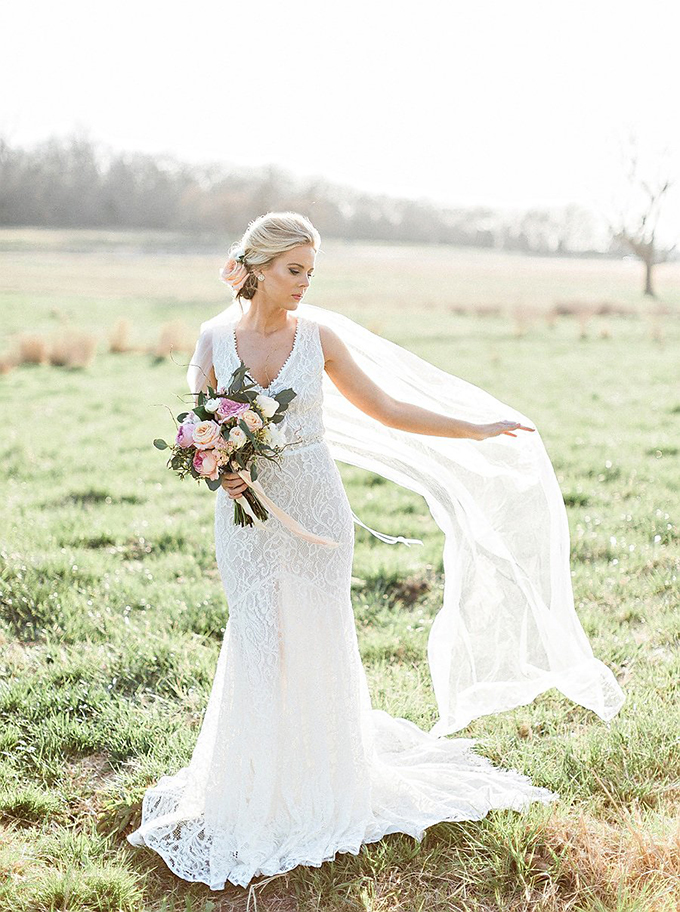 elegant Southern wedding inspiration | Tammy Odell Photography | Glamour & Grace-25