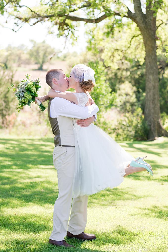 vintage mint wedding | Eureka Photography | Glamour & Grace