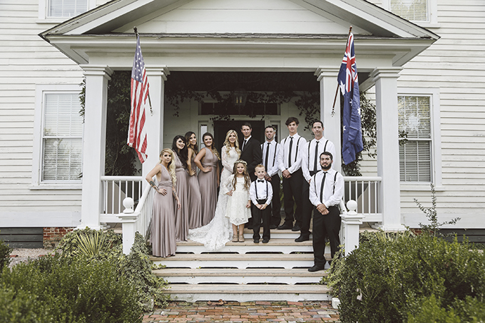neutral southern plantation wedding | Joe Lengson | Glamour & Grace