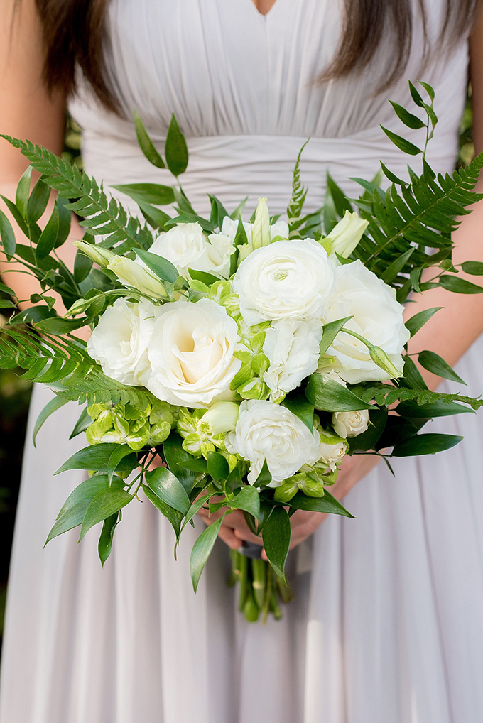 elegant greenery wedding | Mikkel Paige Photography | Glamour & Grace