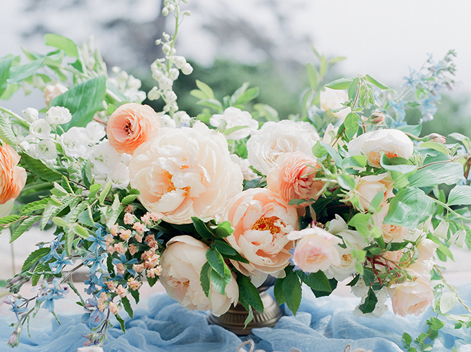 romantic #pastelwedding | Stella Yang Photography | Glamour & Grace