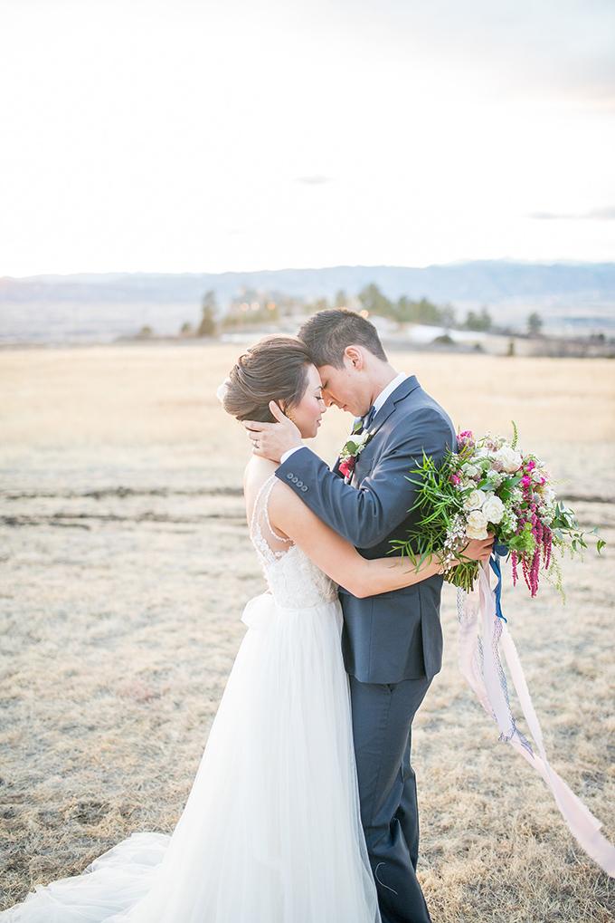 romantic castle wedding inspiration | Anna + Mateo | Glamour & Grace
