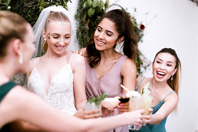 celestial wedding ideas | David's Bridal | Glamour & Grace