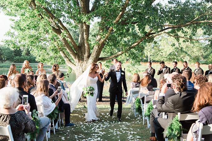 white garden wedding   Bonphotage   Glamour & Grace