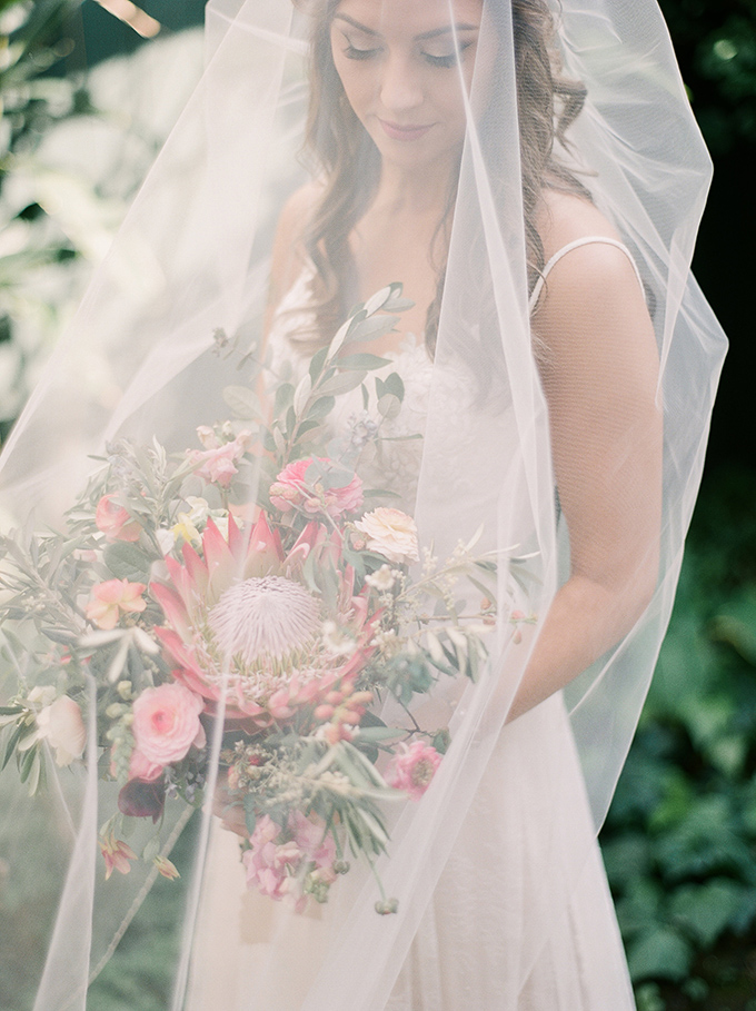 vintage greenhouse wedding   Starling and Sage   Glamour & Grace