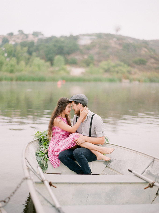 The Notebook inspired engagement session | Katherine Rose Photography | Glamour & Grace