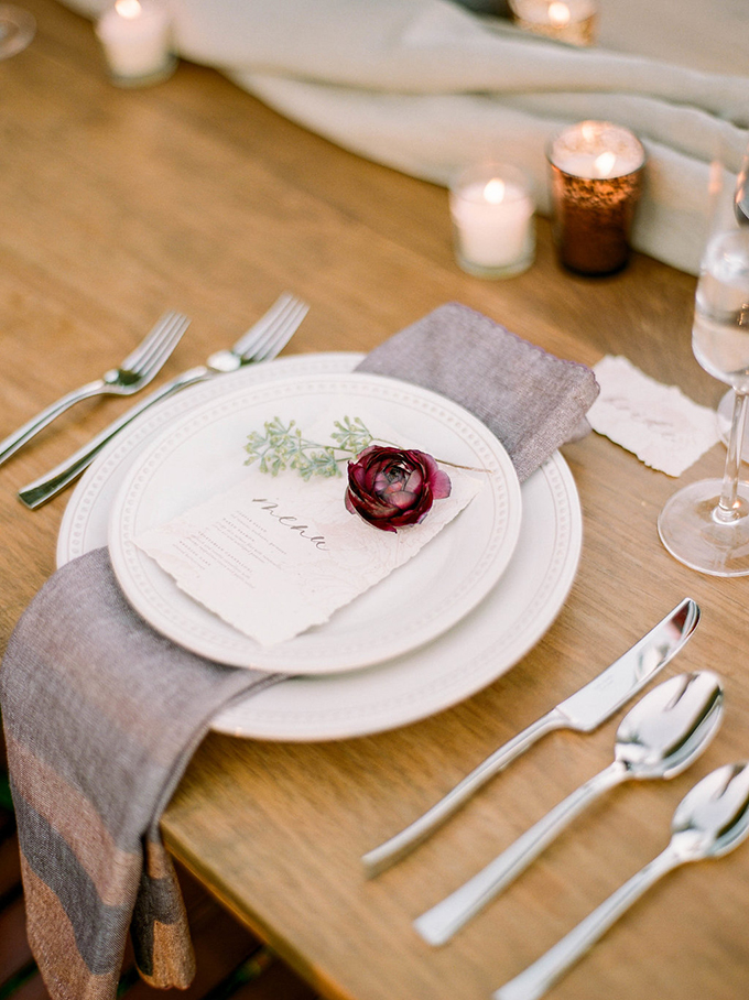 intimate fall wedding ideas | Carrie House Photography | Glamour & Grace