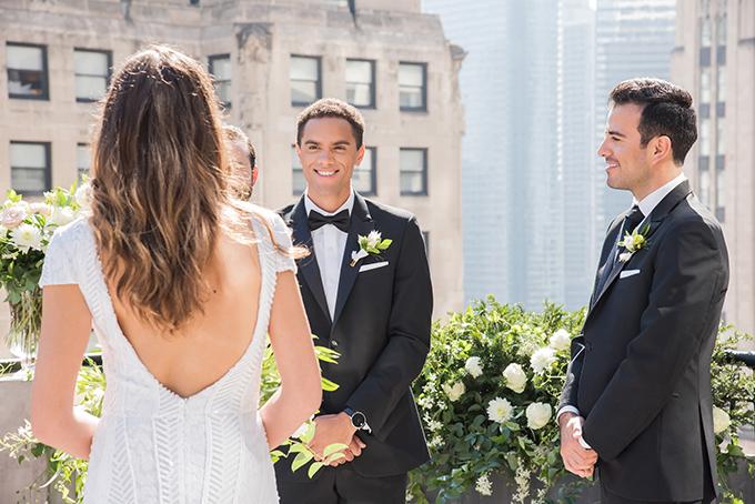 modern Chicago elopement | Belen Aquino | Glamour & Grace
