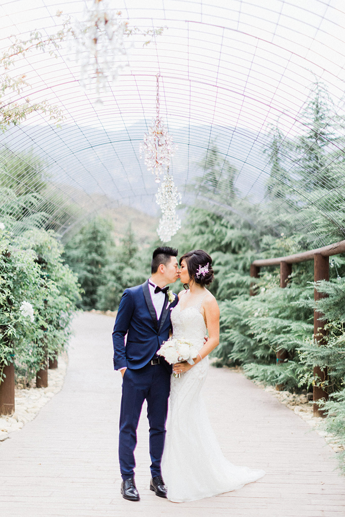 outdoor pink wedding | Susie and Will | Glamour & Grace
