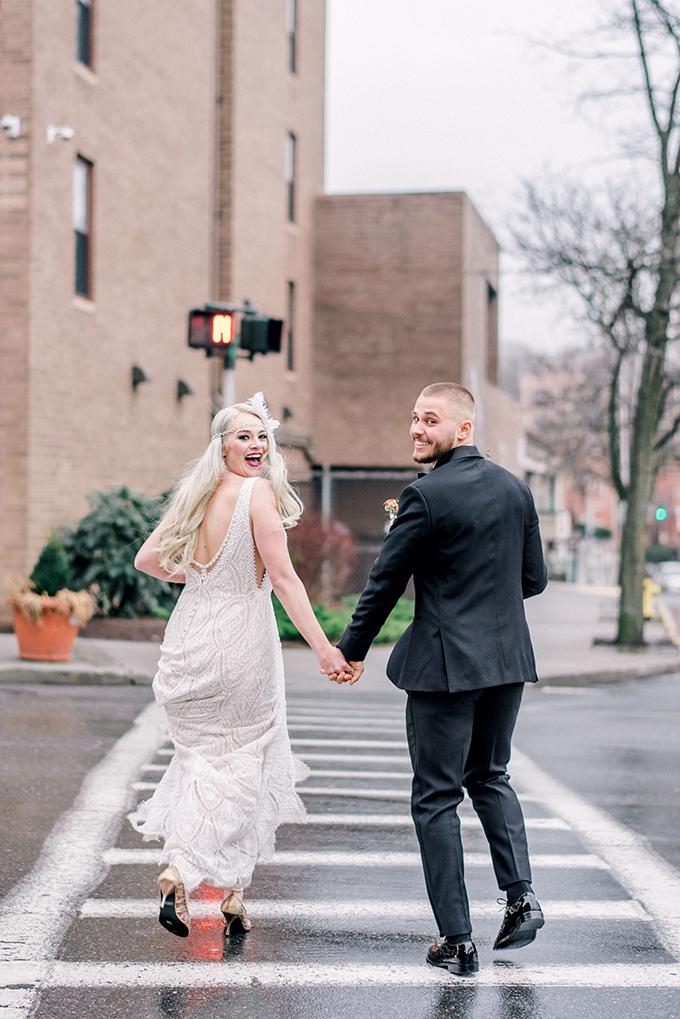 roaring 20s wedding inspiration | Lindsay Lazare Photography | Glamour & Grace