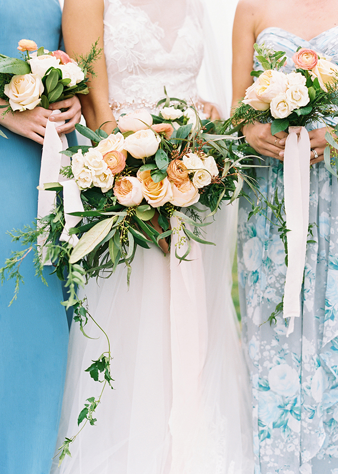romantic spring wedding ideas | The Mallorys | Glamour & Grace