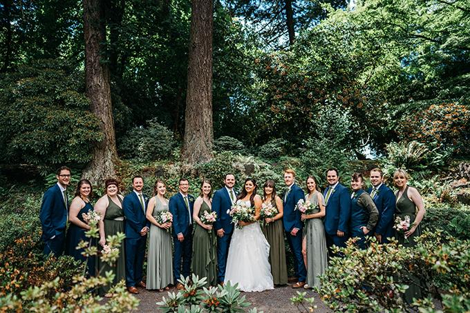 beer garden wedding | Jason Wasinger | Glamour & Grace