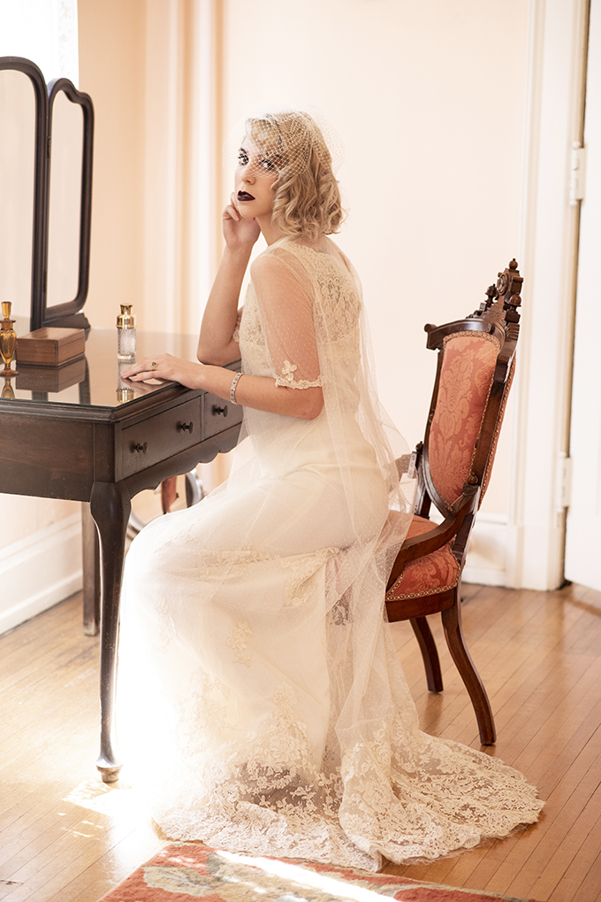 vintage glam wedding ideas | Beth Waterman Photography | Glamour & Grace