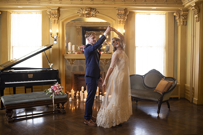 vintage glam wedding ideas   Beth Waterman Photography   Glamour & Grace
