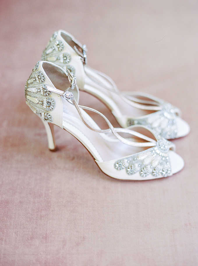 Emmy London wedding shoes | Catherine Ann Photography | Glamour & Grace