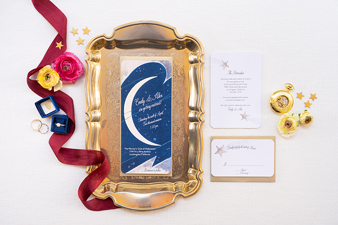 whimsical celestial wedding ideas | Peterson Design & Photography | Glamour & Grace